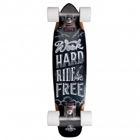 "D-STREET Cruiser Maple Ride Free - 23\"" D-STREET Longboards complets"