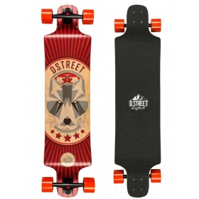 "D-STREET DROP DOWN BEAR 40\"" D-STREET Longboards D-STREET"