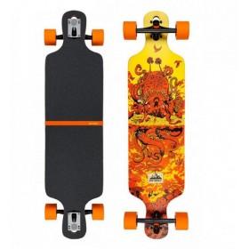 Longboard D-STREET Drop Through Underwater Beached D-STREET Longboards - Skates - Patins
