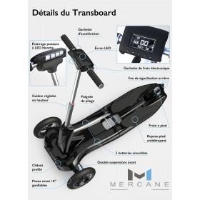 Transboard Mercane M1 MERCANE Trottinettes électriques MERCANE