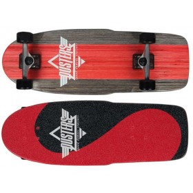 DUSTERS BOGUE CRUISER - RED/BLACK DUSTERS Longboards DUSTER