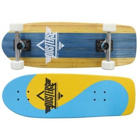 "DUSTERS Bogue cruiser yellow/blue 28\"" DUSTERS Longboards DUSTER"