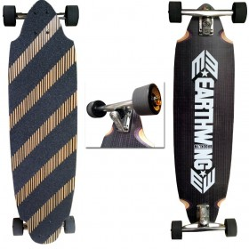 "Carbon Belly Carver Earthwing 37,5\"" Complete (trucks 200 Original) EARTHWING Longboards EARTHWING"