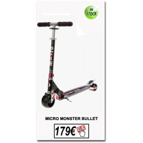 Micro Monster Bullet MICRO Trottinette adulte MICRO