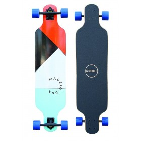 "MADRID Basic Longboards PAPERCUTS Trance 39\"" MADRID Longboards MADRID"