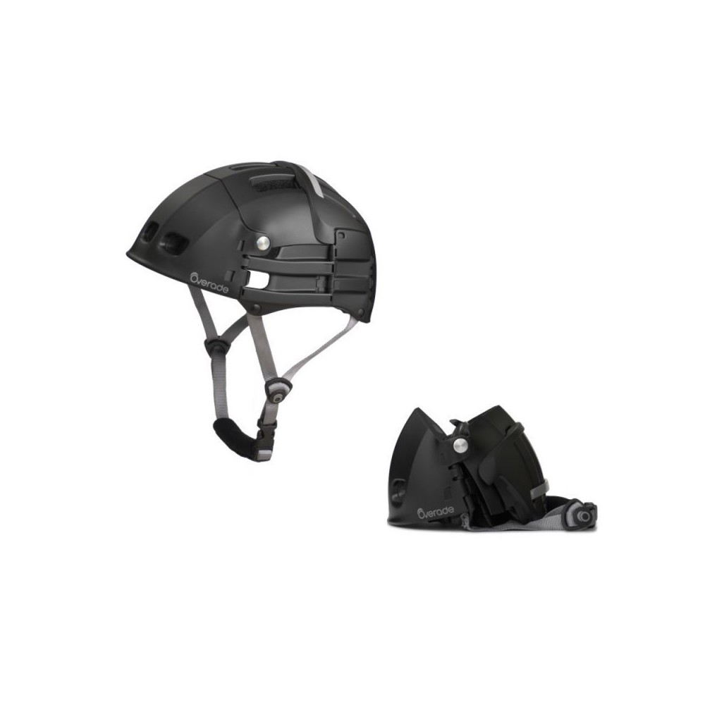 Casque De Protection Pliant OVERADE PLIXI S/M Couleur Gris Anthracite