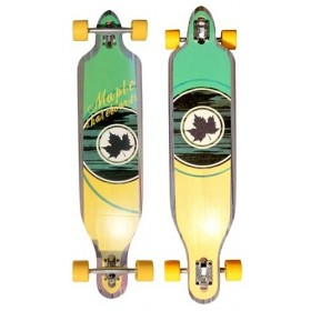 "Drop Through 41\"" Mellow MAPLE Longboards MAPLE"