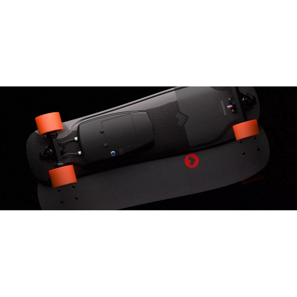 Skate Electrique RIVERSON SHORT BOARD CLASSIC Carbone