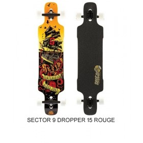 SECTOR 9 Dropper 15 Rouge SECTOR 9 Longboards SECTOR 9