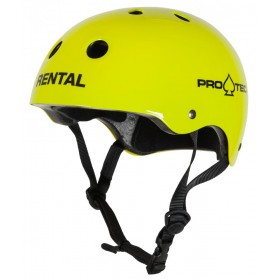 Casque Taille M Gloss Yellow PRO-TEC PRO-TEC Casques et protections