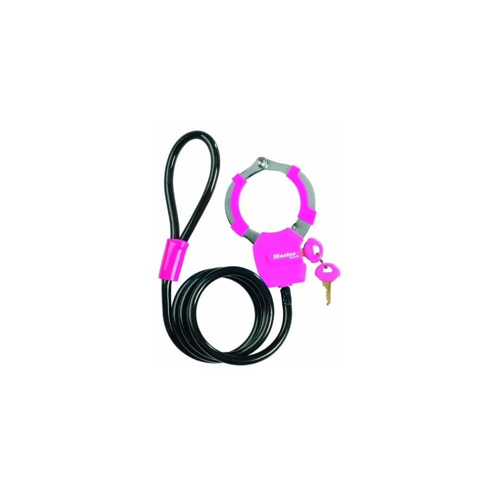 Antivol câble menotte Rose MASTER LOCK Pièce et accessoire