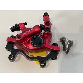 Etrier de frein semi-hydrauliques avant Rouge XTECH Pièces et accessoires DUALTRON