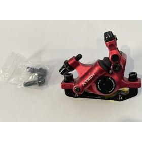 Etrier de frein semi-hydrauliques arrière Rouge XTECH Pièces et accessoires DUALTRON