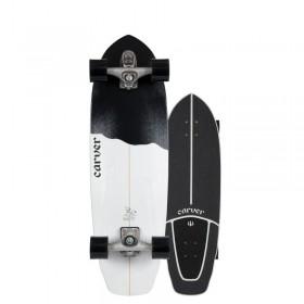 """Skateboard CARVER BLACK TIP C7 32,5\\"""" CARVER Longboards CARVER"""