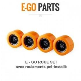 Set de roues complètes (X4) YUNEEK E-GO YUNEEC Accessoires et pièces
