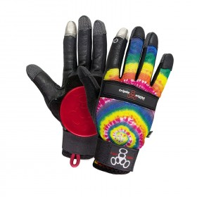 Gants TRIPLE 8 Tie Dye Downhill TRIPLE 8 Longboard - Skate - Patin