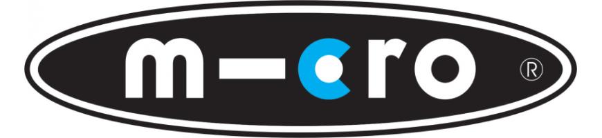 Achetez les trottinettes MICRO en ligne et dans le magasin Roo-Elec